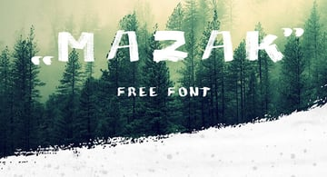 Mazak Font