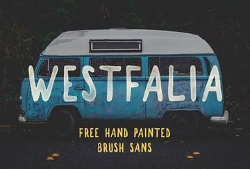 Westfalia Font