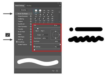 Photoshop Brush Tip Shape