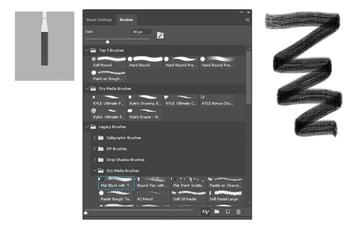 Photoshop Texture Brushes