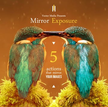 Mirror Exposure - Photoshop Actions