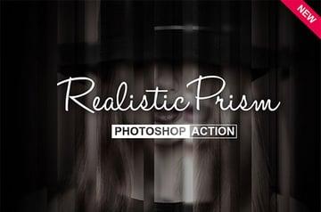 Realistic Prism Photoshop Action