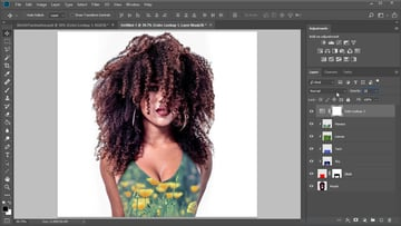 color lookup adjustment layer in photoshop
