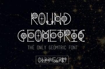 Round Mythical  Gothic Font