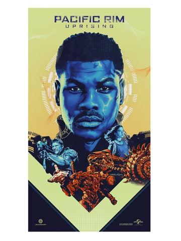 Pacific Rim Uprising - Movie Poster Art
