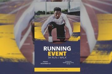 Flyer Maker for Running Events