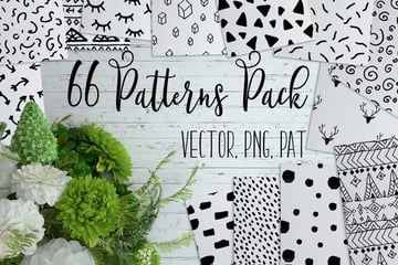 66 Cute Patterns Pack