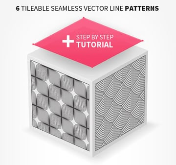 6 Seamless Vector Line Patterns
