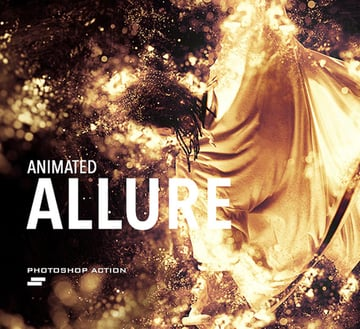 Gif Animated Allure Photoshop Action