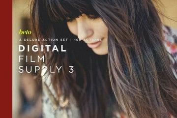 Digital Film Supply 3 Action Bundle
