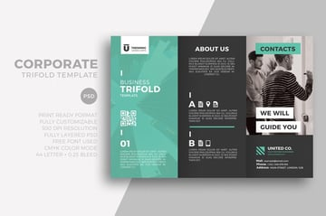 Corporate Trifold Template
