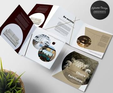 Furniture Brochure Trifold Template