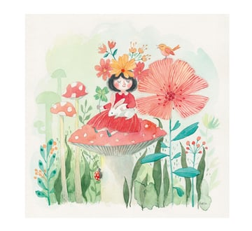 Fairies Animals Flowers and Soft Secrets