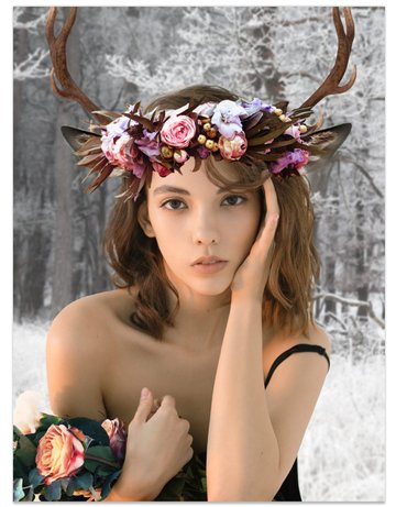 Deer photo manipulation so far