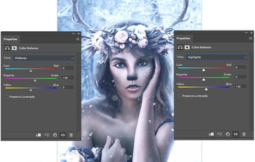 add another color balance layer