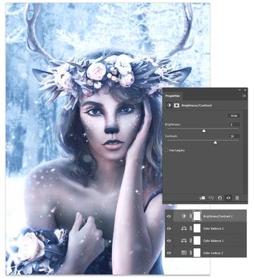 add a brightness and contrast adjustment