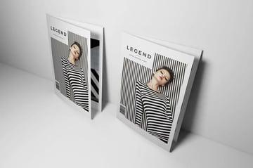Minimal Magazine Template