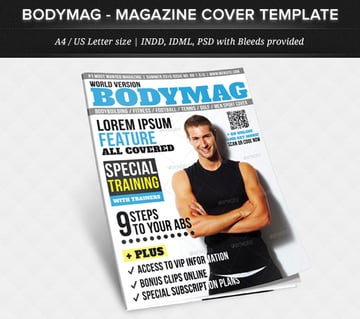 Multipurpose Magazine Cover Template