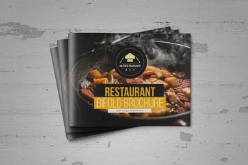 Food Restaurant Brochure