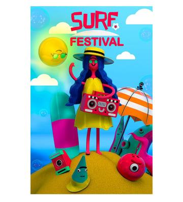 Surf Festival 3D