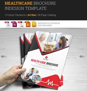 Medical Healthcare Brochure InDesign Template