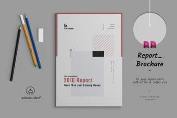 Report Brochure Template