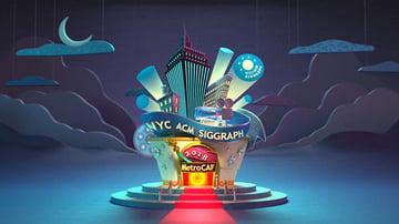 NYC ACM SIGGRAPH Opening Animation