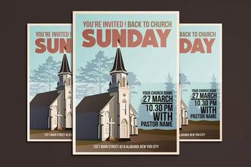 Church Event Flyer Poster
