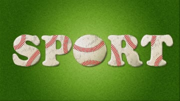 Create a Baseball-Inspired Text Effect in Adobe Illustrator