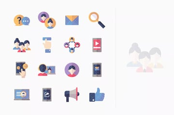 Social Media Icons - Flat Series