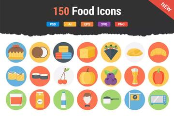 150 Food Icons