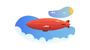How to Create a Zeppelin Illustration in Adobe Illustrator