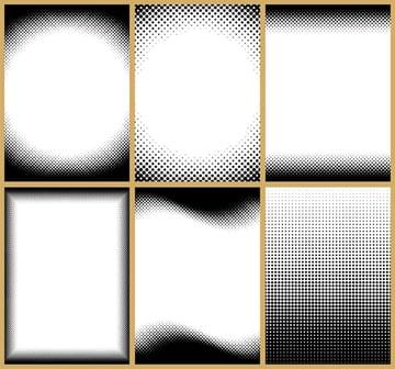 Halftone Frames