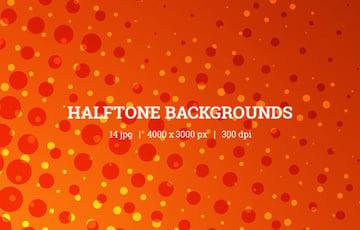 Comic Halftone Backgrounds
