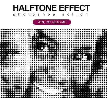 Halftone Effect PS Action