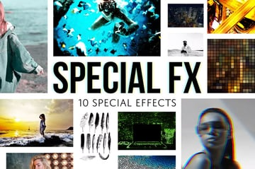 10 Special Effects - Photoshop Actions