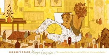 Experience Maya Angelou