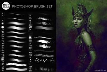 Photoshop Art Brush Set