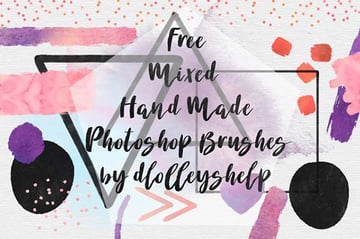 Free Handmade Photoshop Brushes