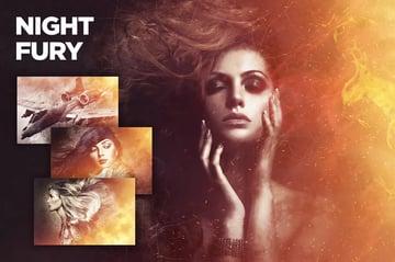 Night Fury Photoshop Action