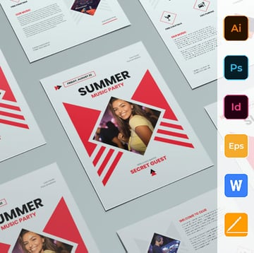 InDesign Poster Template