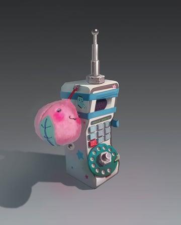 Post-Apocalyptic Cellphone