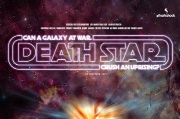 Death Star Retro Font