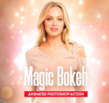 Magic Bokeh - Animated Photoshop Action
