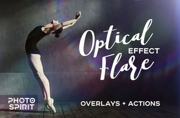 Optical Flare Overlay Effects