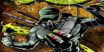 Comic Book Style Graphic Design
