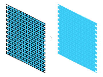 altering colors for texture development