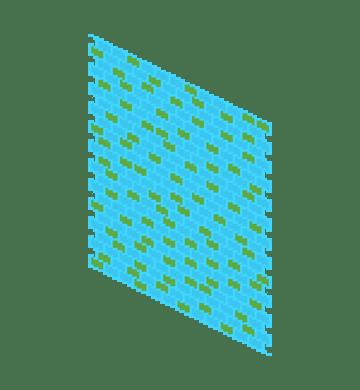 random colored bricks 1
