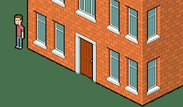 adding depth to door