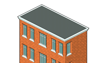 minimal texture for the roof